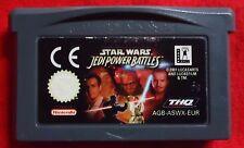 Star Wars - Jedi Power Battles - Nintendo Game Boy Advance GBA - AGB-ASWX-EUR