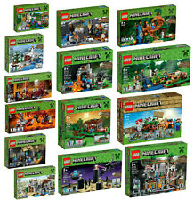 14 NEW SEALED LEGO MINECRAFT SETS New 2016 Releases 21113-21122 sealed nisb mine