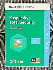 Kaspersky Total Security Ultimate Protection (5 Devices/1 Yr) Internet Security