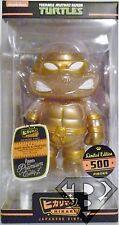 """Teenage Mutant Ninja Turtles Hikari Sofubi Gold Glitter 6"""" Vinyl Figure 2014"""