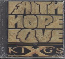 "KING'S X  ""Faith Hope Love""  NEW SEALED METAL CD ---13 Tracks"