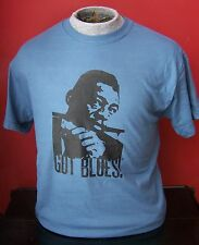 GOT BLUES LITTLE WALTER HARMONICA GUITAR  T-SHIRT SIZES S-XL