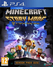 Minecraft: Story Mode - Season Disc (Sony PlayStation 4, 2015)