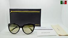 BALENCIAGA BA0048 color 01B occhiale da sole da donna TOP ICON NOV15