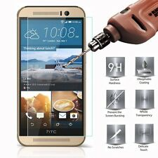 9H Premium Tempered Glass Screen Protector Film Cover Protection for HTC ONE M8