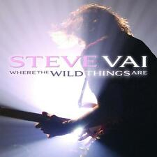 STEVE VAI - WHERE THE WILD THINGS ARE - 2LP VINYL NEW SEALED 2010