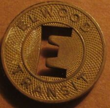 1946 Elwood, IN Transit Bus Token - Ind. Indiana