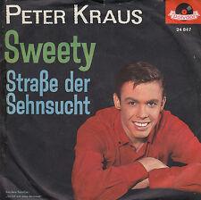 45TRS VINYL 7''/ GERMAN SP PETER KRAUS / SWEETY / POLYDOR