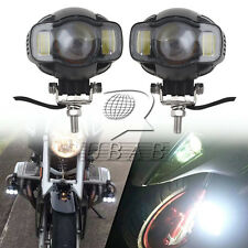 2X USB Motorcycle LED Headlight Fog Lights Safety Lamp for BMW K1600 R1200GS ADV