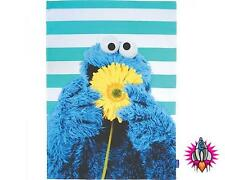 SESAME STREET COOKIE MONSTER OFFICIAL KITCHEN TEA TOWEL NEW WITH TAGS