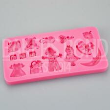 Multi Baby Toys Silicone Mould Baking Bakeware Chocolate Cupcake Ice Cake Topper