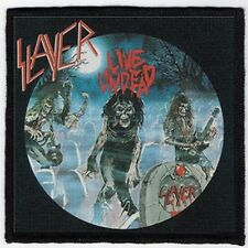 SLAYER PATCH / SPEED-THRASH-BLACK-DEATH METAL