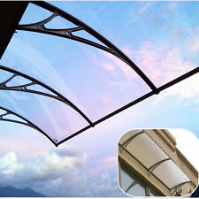 40'' x 106'' Outdoor Polycarbonate Front Door Window Awning Patio Cover Canop