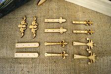Fairy Door Hinges Pack - Wooden, MDF, Paintable, Embellishments, crafts