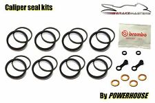 Ducati 999r 999 R 2003 03 Brembo Radial Freno Delantero Caliper Kit De Sello