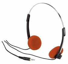 WORKING! Vintage Orange Foam Headphones for Star Lord Guardians of Galaxy NEW