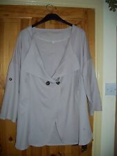 Nude lightweight jacket, size XXL(16-18?)New /in original packet