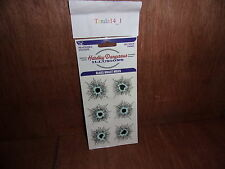 Hardley Dangerous Illusions Glass Impact Bullet Hole Stickers For Pranks