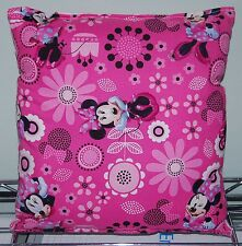 Minnie Mouse Pillow Spring Minnie Pillow New HANDMADE In USA  ,Travel , Daycare