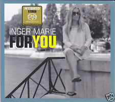 """Inger Marie Gundersen - For You"" Audiophile Female Vocal Hybrid Stereo SACD New"