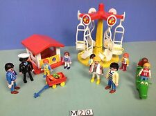 (M20) playmobil lot parc à jeux enfants