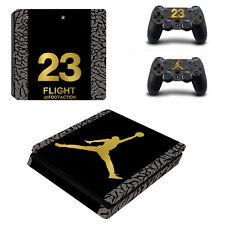 Basketball Legend Vinyl Skin Sticker for Sony PS4 Slim Console & 2 Controllers