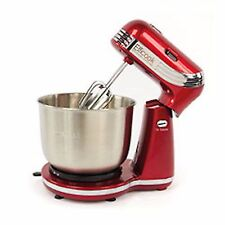 Efficook Retro Stand Dough Mixer Blender Food Processor - RED- SEC 52.05.07-NEW