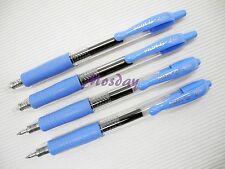 4 x Pilot G2-5 Roller Ball Pen Retractable Gel Ink 0.5mm, SKY BLUE