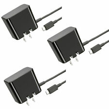 3x Wall Charger 1.8A 5V Micro USB Blackberry Playbook Tablet Rapid Folding Blade