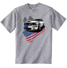 FORD MUSTANG GT 1 - NEW COTTON GREY TSHIRT - ALL SIZES IN STOCK