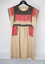 Isabel Marant Dress Tunic Top Embroidered Size 2 S