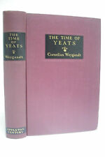 1937 Signed First Edition  THE TIME OF YEATS * Cornelius Weygandt * RARE!!