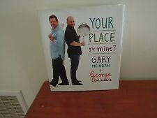 Your Place or Mine? by Gary Mehigan, George Calombaris (Hardback, 2010).