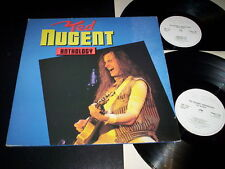 """Ted Nugent """"Anthology"""" 2LP gatefold Raw Power – RAWLP 026 Uk 1986"""