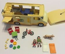 Playmobil Camper 3647 Motorhome RV Vacation Bus Accessories Bike