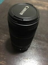 Canon EF-S 55-250mm f/4.0-5.6 STM IS II Lens, Pristine Condition.