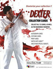 Dexter Seasons 1 & 2 Trading Card Sell Sheet