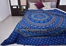 Indian Elephant Mandala Queen Size Duvet Covers Throw Quilt Cover Bedding Cover