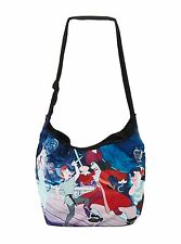 New Disney Peter Pan Hook Sword Fight Hobo Bag Purse