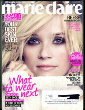 Marie Claire Magazine October 2011 Reese Witherspoon EX 071016jhe