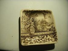 Antique B & L Pottery England Rustic Pattern Collectible # 56790 dish tray ash