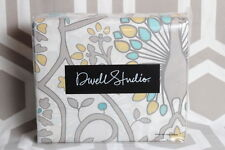 NIP Dwell Studio Dwellstudio Victoria Citrine Full Queen Duvet & Shams Set $170
