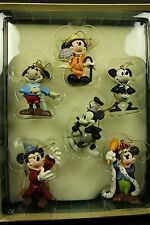 Disney Mickey Mouse Through the Years Christmas Ornaments Collection Storybook