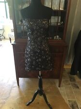 La Femme NWT Strapless Black And Nude Sequin Formal Dress Size 8