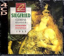 Richard Wagner The Nibelung's Ring 4 CD Box Set Siegfried 1953 Krauss NEW