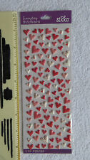 New Pack Sticko HEARTS Mini Puffy Heart Stickers