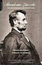 Lincoln: His Speeches and Writings by Basler, Roy, Sandburg, Carl, Basler, Roy