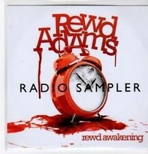(BO800) Rewd Adams, Rewd Awakening sampler - DJ CD