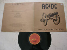 AC/DC For Those About To Rock *AUSTRALISCHE ALBERT ORIGINAL LP 1981*APLP.053*