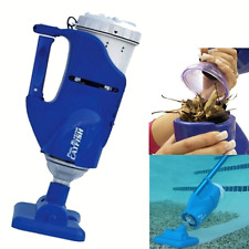 Water Tech Pool Cleaner Blaster Catfish Spa Swimming Handheld Vacuum Battery New